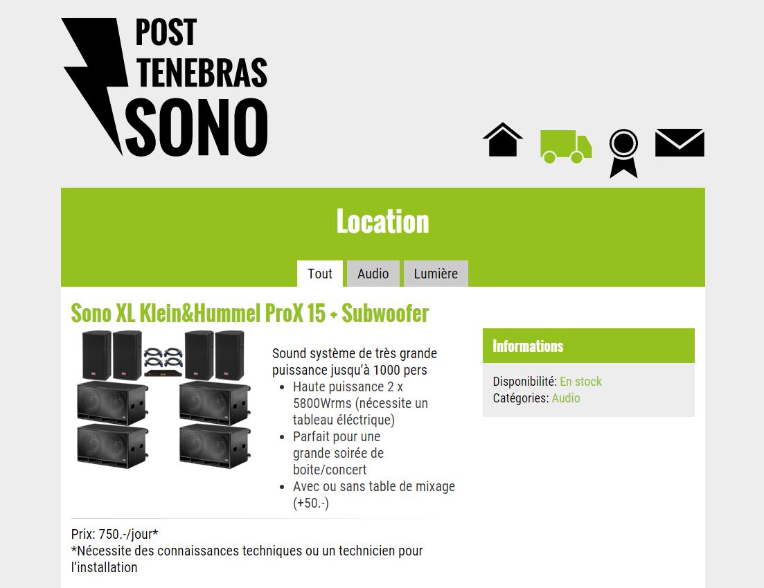 Post Tenebras Sono – Cliquez pour VISITER le site!
